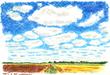 青い空に白い雲.png
